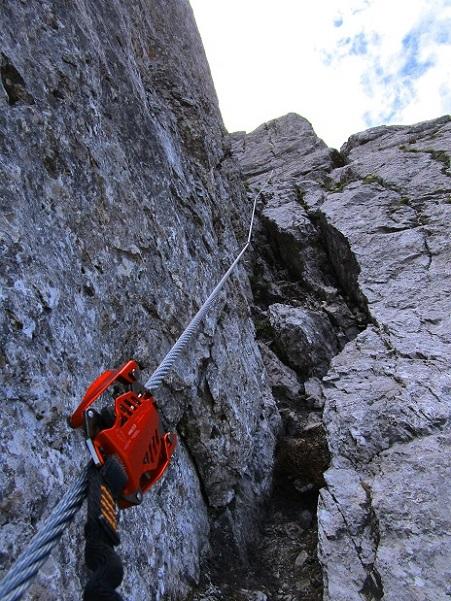 Foto: Andreas Koller / Klettersteigtour / Klettersteig Arzalpenturm und Arzalpenkopf (2372m) / 10.09.2021 16:59:37