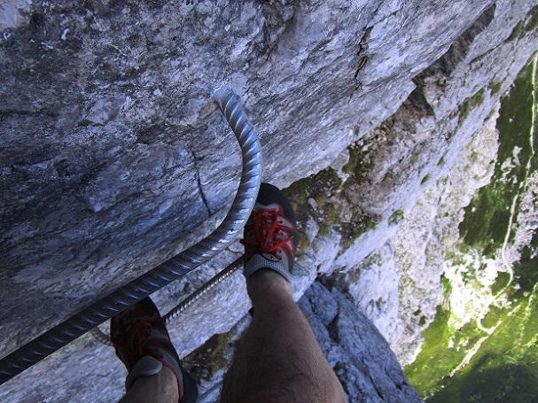 Foto: Andreas Koller / Klettersteigtour / Klettersteig Arzalpenturm und Arzalpenkopf (2372m) / 10.09.2021 16:59:22
