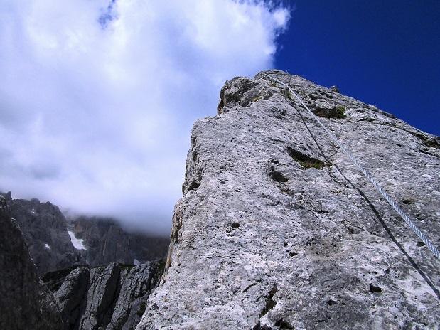Foto: Andreas Koller / Klettersteigtour / Klettersteig Arzalpenturm und Arzalpenkopf (2372m) / 10.09.2021 16:59:16