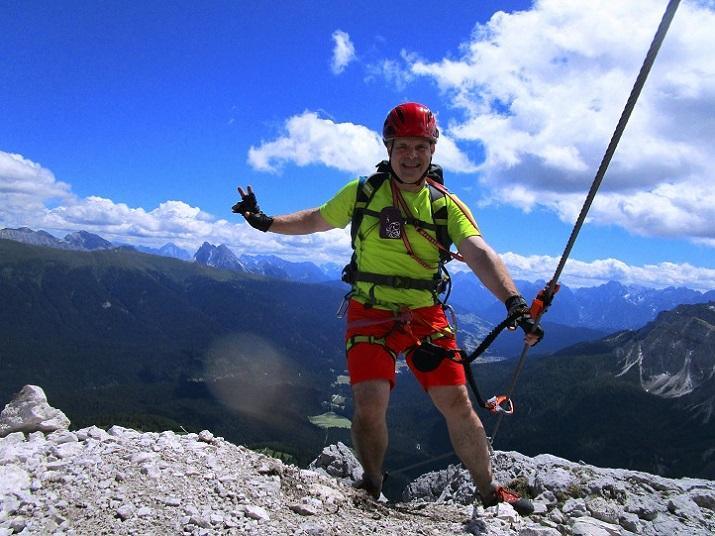Foto: Andreas Koller / Klettersteigtour / Klettersteig Arzalpenturm und Arzalpenkopf (2372m) / 10.09.2021 16:58:47
