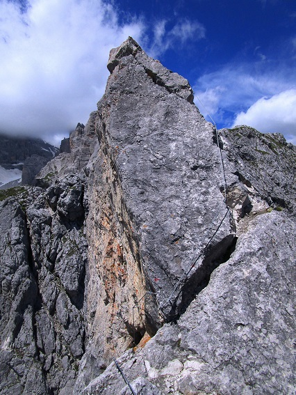 Foto: Andreas Koller / Klettersteigtour / Klettersteig Arzalpenturm und Arzalpenkopf (2372m) / 10.09.2021 16:58:40