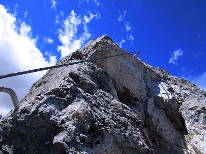 Foto: Andreas Koller / Klettersteigtour / Klettersteig Arzalpenturm und Arzalpenkopf (2372m) / 10.09.2021 16:58:33