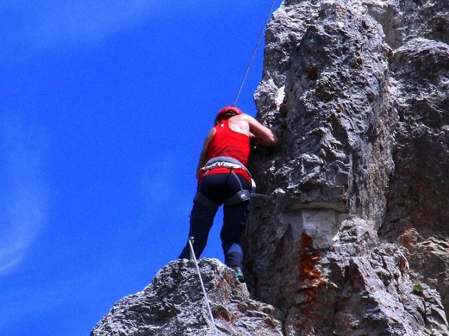 Foto: Andreas Koller / Klettersteigtour / Klettersteig Arzalpenturm und Arzalpenkopf (2372m) / 10.09.2021 16:57:58