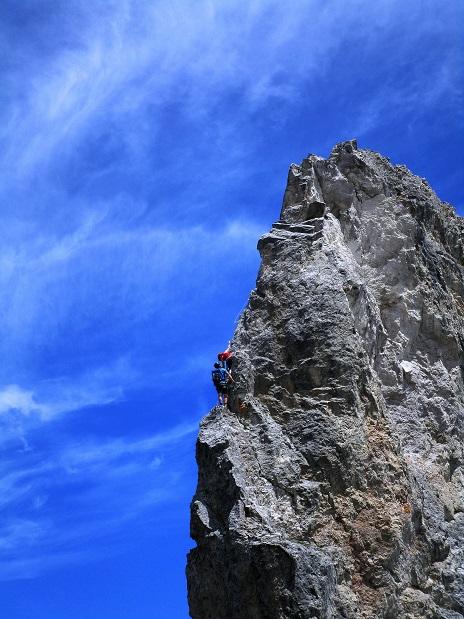 Foto: Andreas Koller / Klettersteigtour / Klettersteig Arzalpenturm und Arzalpenkopf (2372m) / 10.09.2021 16:57:51