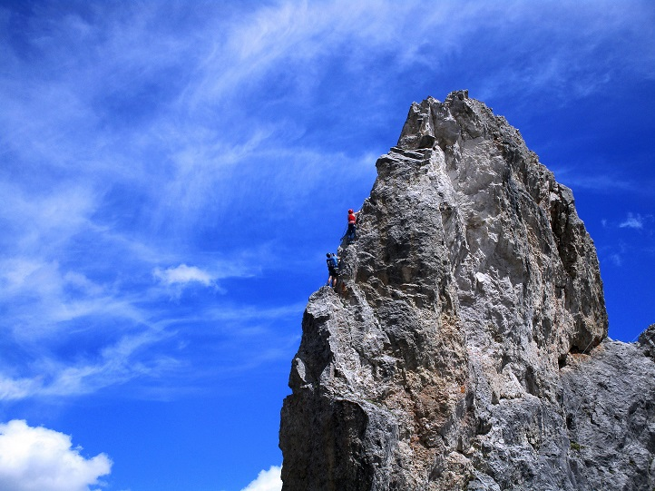 Foto: Andreas Koller / Klettersteigtour / Klettersteig Arzalpenturm und Arzalpenkopf (2372m) / 10.09.2021 16:57:44
