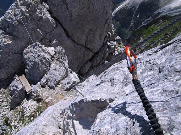Foto: Andreas Koller / Klettersteigtour / Klettersteig Arzalpenturm und Arzalpenkopf (2372m) / 10.09.2021 16:57:37