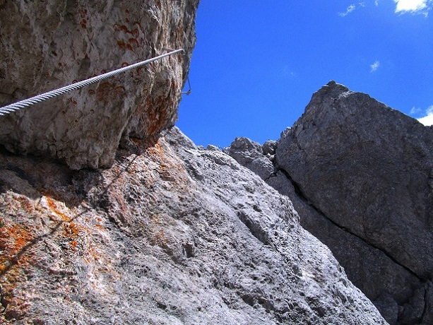 Foto: Andreas Koller / Klettersteigtour / Klettersteig Arzalpenturm und Arzalpenkopf (2372m) / 10.09.2021 16:57:30