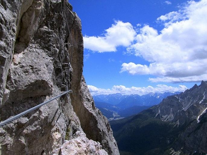 Foto: Andreas Koller / Klettersteigtour / Klettersteig Arzalpenturm und Arzalpenkopf (2372m) / 10.09.2021 16:57:24