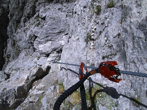 Foto: Andreas Koller / Klettersteigtour / Klettersteig Arzalpenturm und Arzalpenkopf (2372m) / 10.09.2021 16:57:09