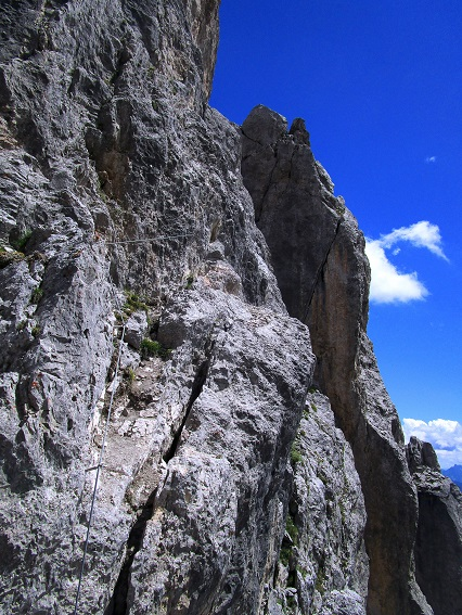 Foto: Andreas Koller / Klettersteigtour / Klettersteig Arzalpenturm und Arzalpenkopf (2372m) / 10.09.2021 16:57:03