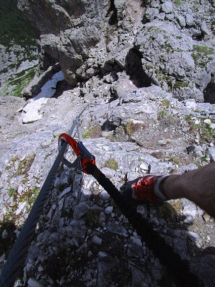 Foto: Andreas Koller / Klettersteigtour / Klettersteig Arzalpenturm und Arzalpenkopf (2372m) / 10.09.2021 16:56:43