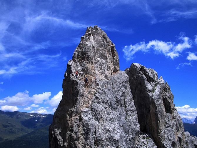 Foto: Andreas Koller / Klettersteigtour / Klettersteig Arzalpenturm und Arzalpenkopf (2372m) / 10.09.2021 16:56:21