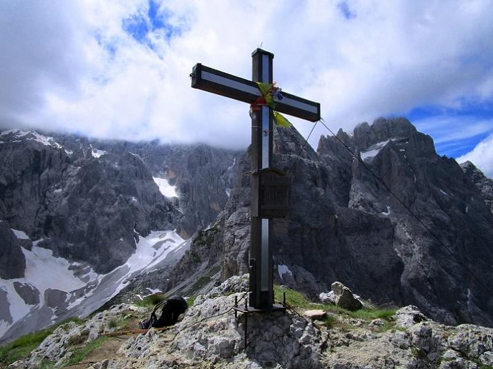 Foto: Andreas Koller / Klettersteigtour / Klettersteig Arzalpenturm und Arzalpenkopf (2372m) / 10.09.2021 16:54:39