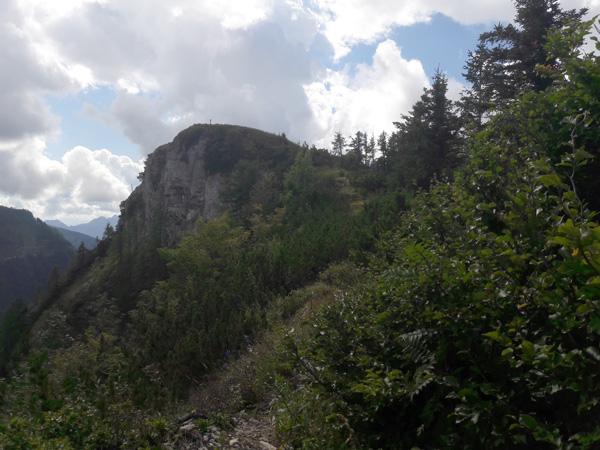 Foto: Rupert Gredler / Wandertour / Holzeck neuer Steig / Gipfelblick / 15.09.2021 17:15:50