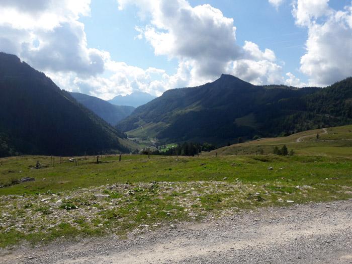 Foto: Rupert Gredler / Wandertour / Holzeck neuer Steig / Blick zum Hochwieskopf / 15.09.2021 17:18:47