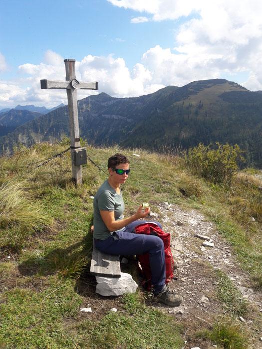 Foto: Rupert Gredler / Wandertour / Holzeck neuer Steig / Gipfelrast / 15.09.2021 17:21:14
