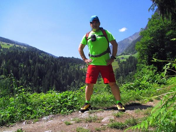 Foto: Andreas Koller / Klettersteigtour / Klettersteig Stuller Wasserfall (1320m) / 09.10.2021 17:27:07