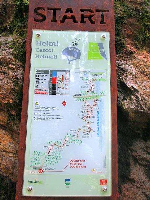 Foto: Andreas Koller / Klettersteigtour / Klettersteig Stuller Wasserfall (1320m) / 09.10.2021 17:26:41