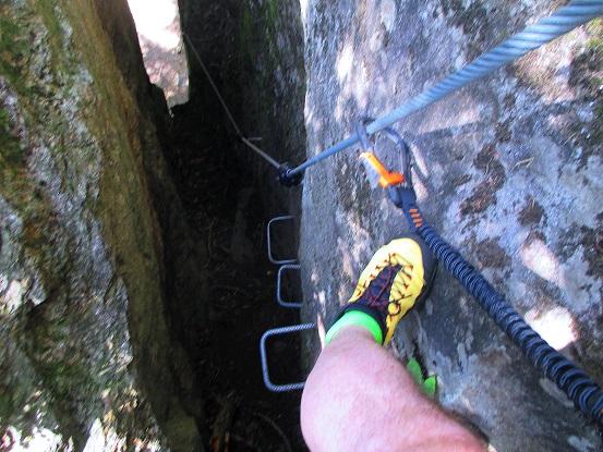 Foto: Andreas Koller / Klettersteigtour / Klettersteig Stuller Wasserfall (1320m) / 09.10.2021 17:26:26