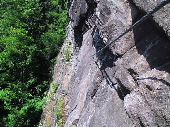 Foto: Andreas Koller / Klettersteigtour / Klettersteig Stuller Wasserfall (1320m) / 09.10.2021 17:26:20