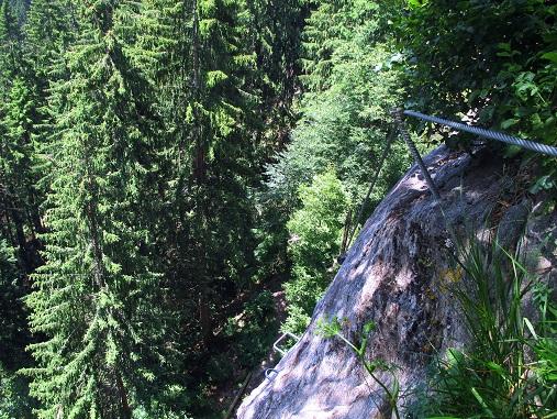 Foto: Andreas Koller / Klettersteigtour / Klettersteig Stuller Wasserfall (1320m) / 09.10.2021 17:26:16