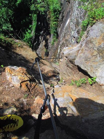 Foto: Andreas Koller / Klettersteigtour / Klettersteig Stuller Wasserfall (1320m) / 09.10.2021 17:25:39