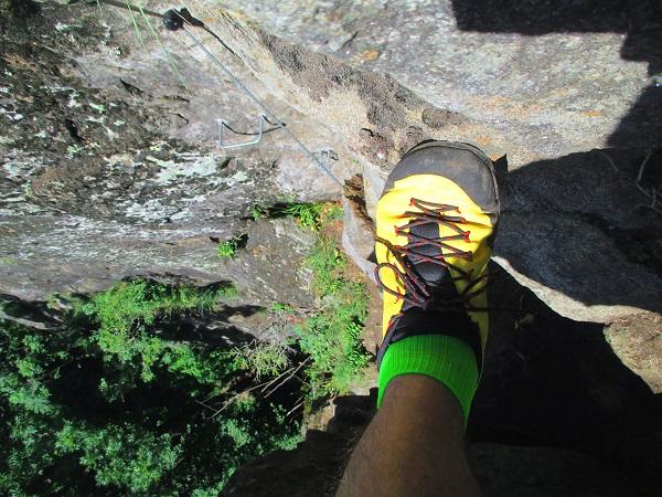 Foto: Andreas Koller / Klettersteigtour / Klettersteig Stuller Wasserfall (1320m) / 09.10.2021 17:25:26