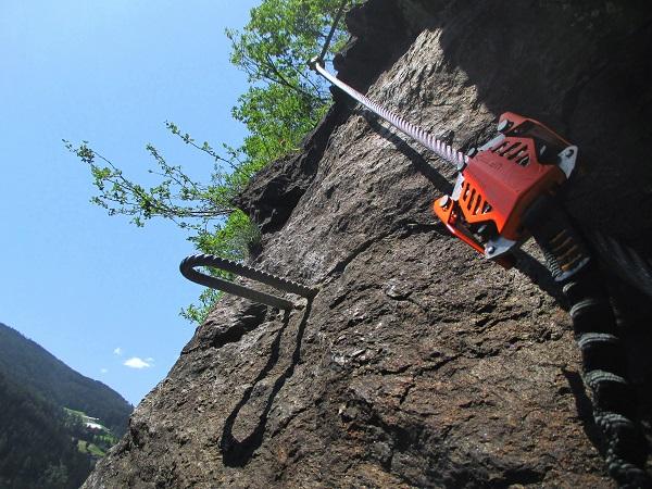 Foto: Andreas Koller / Klettersteigtour / Klettersteig Stuller Wasserfall (1320m) / 09.10.2021 17:25:02