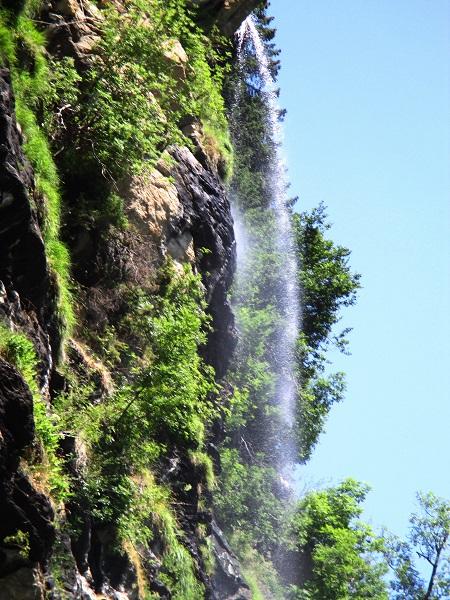 Foto: Andreas Koller / Klettersteigtour / Klettersteig Stuller Wasserfall (1320m) / 09.10.2021 17:24:18