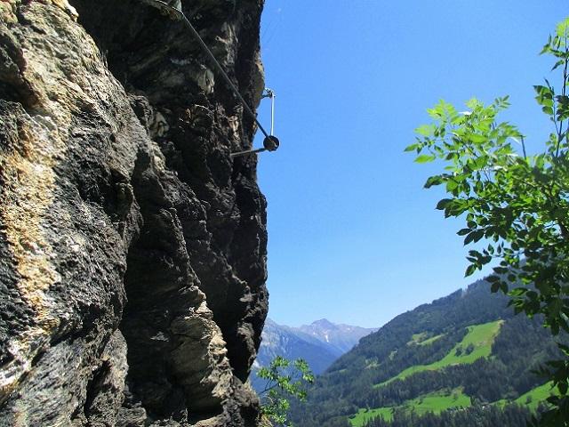Foto: Andreas Koller / Klettersteigtour / Klettersteig Stuller Wasserfall (1320m) / 09.10.2021 17:23:49