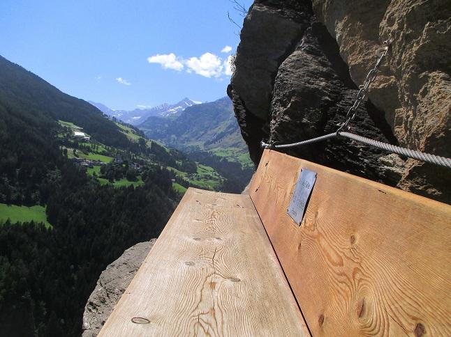 Foto: Andreas Koller / Klettersteigtour / Klettersteig Stuller Wasserfall (1320m) / 09.10.2021 17:22:51