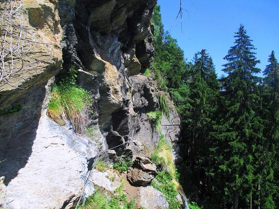 Foto: Andreas Koller / Klettersteigtour / Klettersteig Stuller Wasserfall (1320m) / 09.10.2021 17:22:16