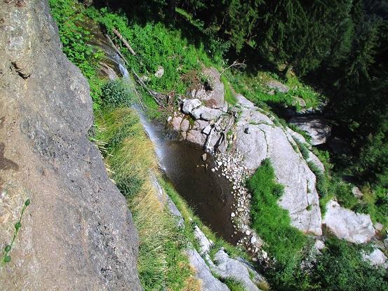 Foto: Andreas Koller / Klettersteigtour / Klettersteig Stuller Wasserfall (1320m) / 09.10.2021 17:22:04