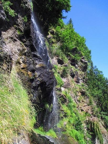 Foto: Andreas Koller / Klettersteigtour / Klettersteig Stuller Wasserfall (1320m) / 09.10.2021 17:21:55