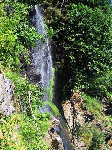 Foto: Andreas Koller / Klettersteigtour / Klettersteig Stuller Wasserfall (1320m) / 09.10.2021 17:21:20