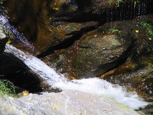 Foto: Andreas Koller / Klettersteigtour / Klettersteig Stuller Wasserfall (1320m) / 09.10.2021 17:20:30