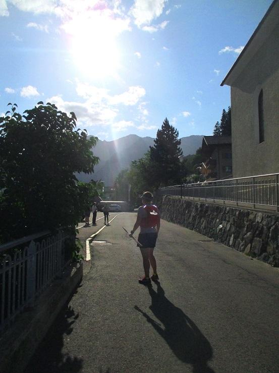Foto: Andreas Koller / Klettersteigtour / Klettersteig Stuller Wasserfall (1320m) / Abstieg von Stuls / 09.10.2021 17:16:58