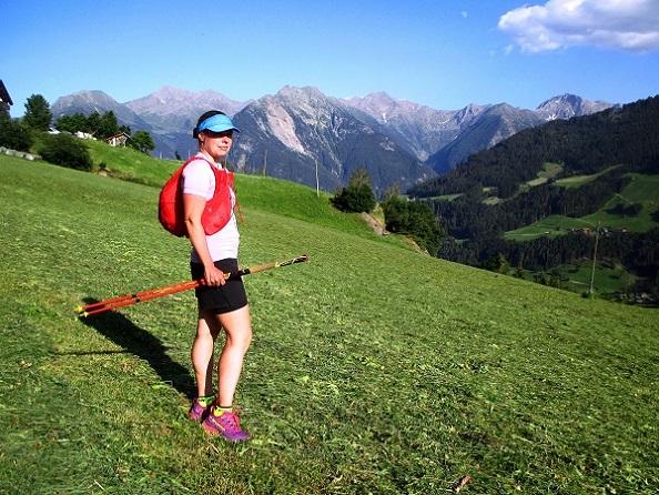 Foto: Andreas Koller / Klettersteigtour / Klettersteig Stuller Wasserfall (1320m) / 09.10.2021 17:16:34