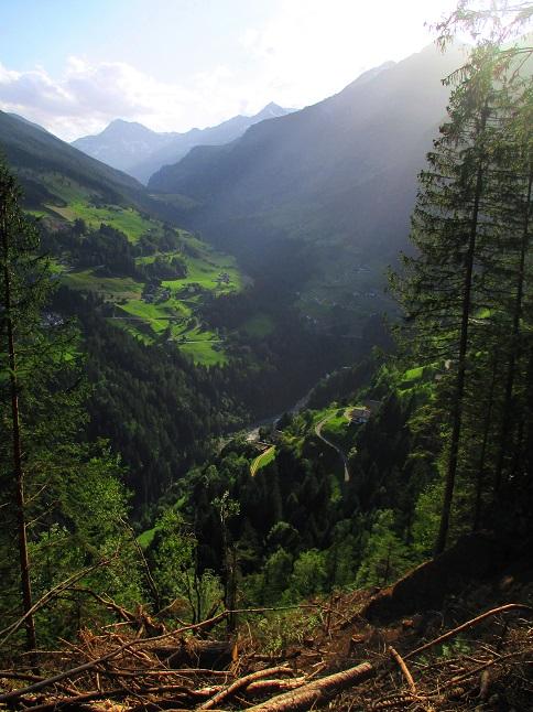 Foto: Andreas Koller / Klettersteigtour / Klettersteig Stuller Wasserfall (1320m) / 09.10.2021 17:15:43