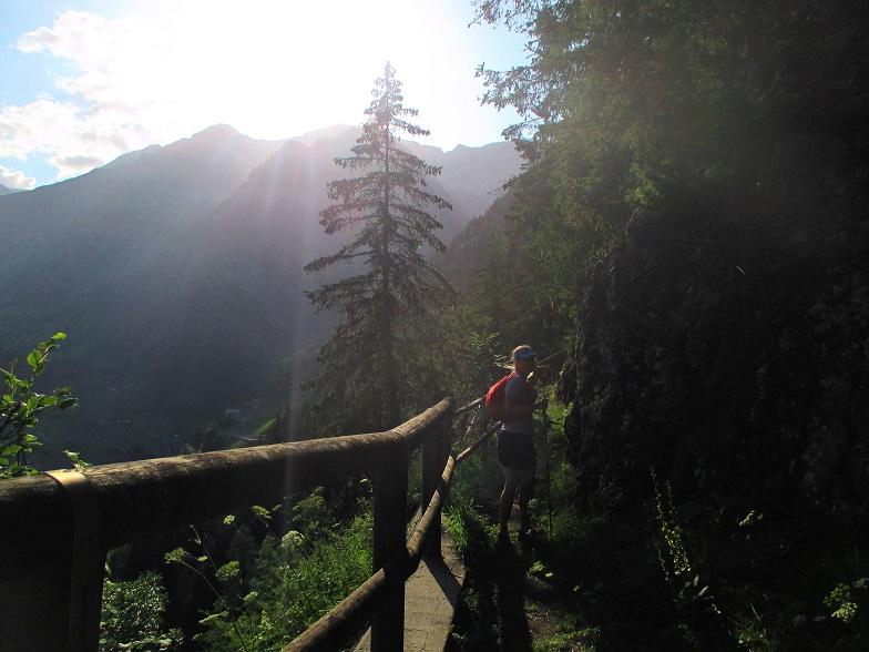 Foto: Andreas Koller / Klettersteigtour / Klettersteig Stuller Wasserfall (1320m) / 09.10.2021 17:15:34