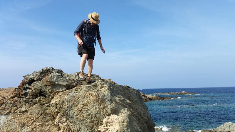 Foto: Rupert Gredler / Wandertour / Von der Punta Spanu nach Calvi / Auf den Klippen / 13.10.2021 13:53:09