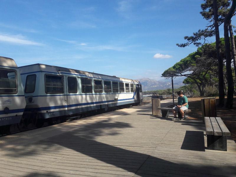 Foto: Rupert Gredler / Wandertour / Von der Punta Spanu nach Calvi / Mit dieser Bahn zum Ausgangspunkt. / 13.10.2021 13:54:51