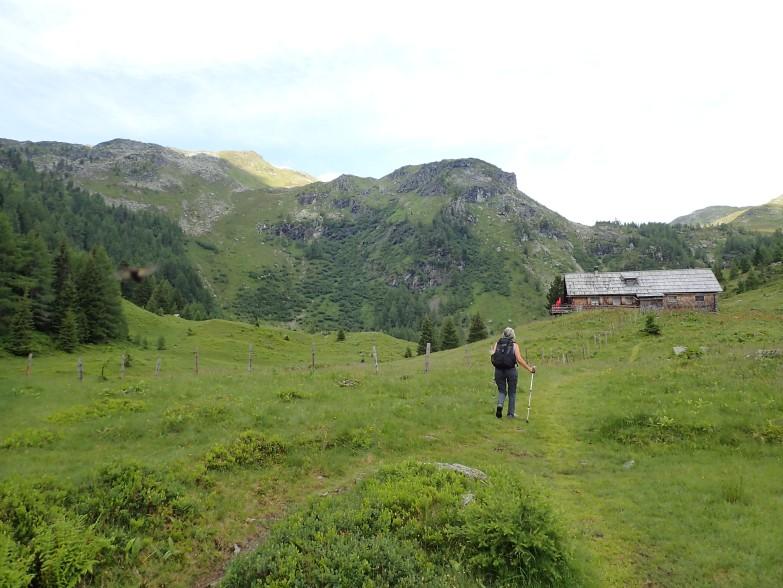 Foto: Manfred Karl / Wandertour / Tauernhöhe aus dem Weißpriachtal / Tonimörtlhütte / 13.10.2021 07:33:36