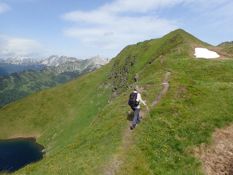 Foto: Manfred Karl / Wandertour / Tauernhöhe aus dem Weißpriachtal / Aufstieg zur Gollitschspitze / 13.10.2021 07:28:55