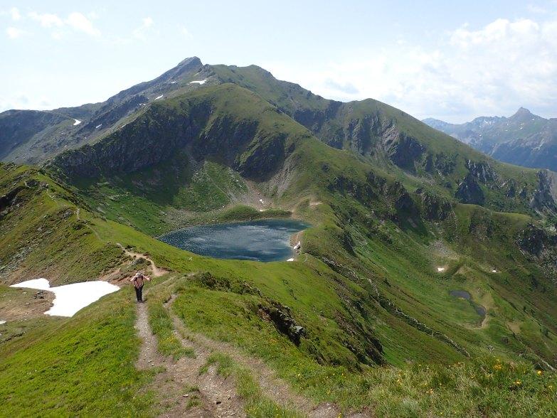 Foto: Manfred Karl / Wandertour / Tauernhöhe aus dem Weißpriachtal / Unterhalb der Gollitschspitze / 13.10.2021 07:27:11