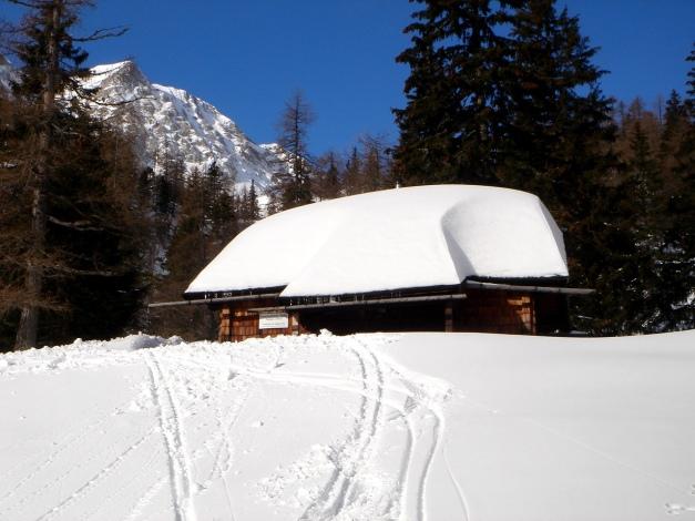Foto: Manfred Karl / Ski Tour / Über die Gwechenberghütte auf den Sonntagskogel / Gwechenberghütte / 30.01.2009 23:12:36