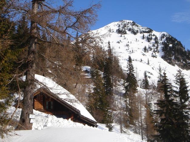 Foto: Manfred Karl / Ski Tour / Über die Gwechenberghütte auf den Sonntagskogel / 30.01.2009 23:11:51