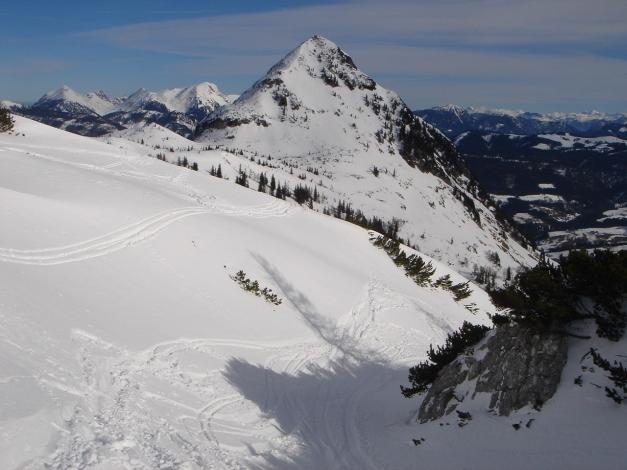 Foto: Manfred Karl / Ski Tour / Über die Gwechenberghütte auf den Sonntagskogel / Schober / 30.01.2009 23:10:29