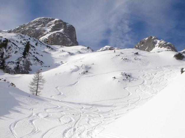 Foto: Manfred Karl / Ski Tour / Über die Gwechenberghütte auf den Sonntagskogel / 30.01.2009 23:09:50