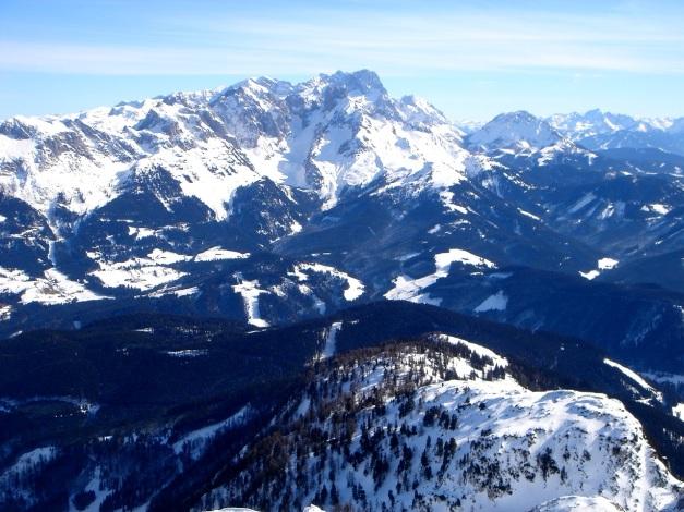 Foto: Manfred Karl / Ski Tour / Über die Gwechenberghütte auf den Sonntagskogel / Gosaukamm - Dachstein / 30.01.2009 23:01:21